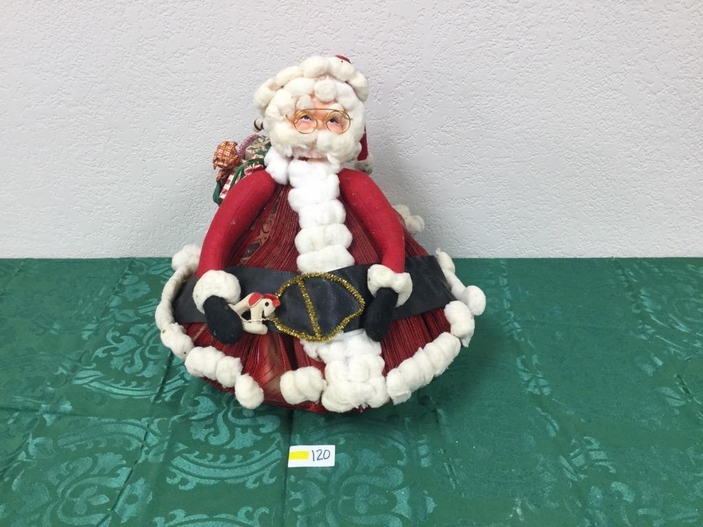 Unique Handmade Santa Decoration