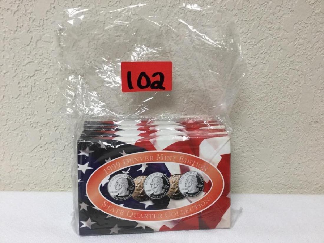 1999 State Quarter Collection. Includes Denver Mint,