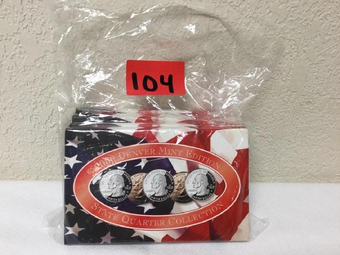 2000 State Quarter Collection. Includes Denver Mint,