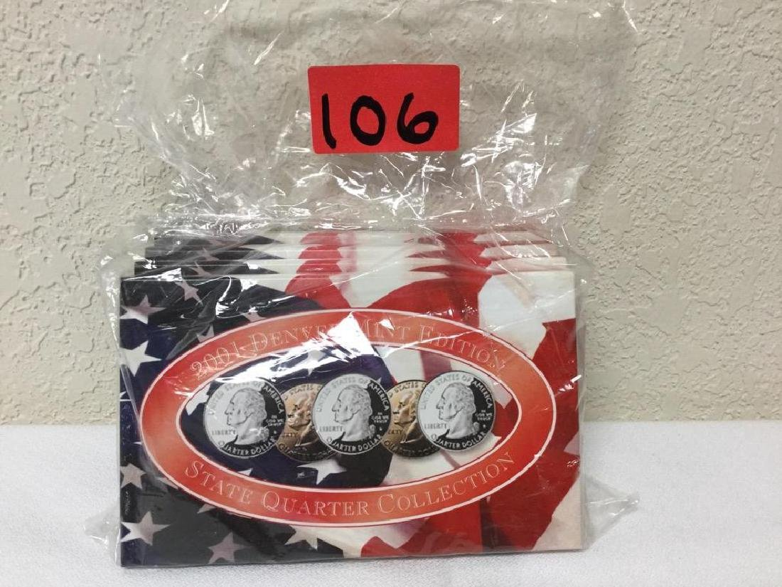 2001 State Quarter Collection. Includes Denver Mint,