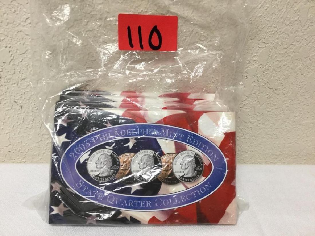 2003 State Quarter Collection. Includes Denver Mint,