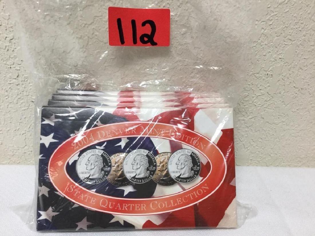 2004 State Quarter Collection. Includes Denver Mint,