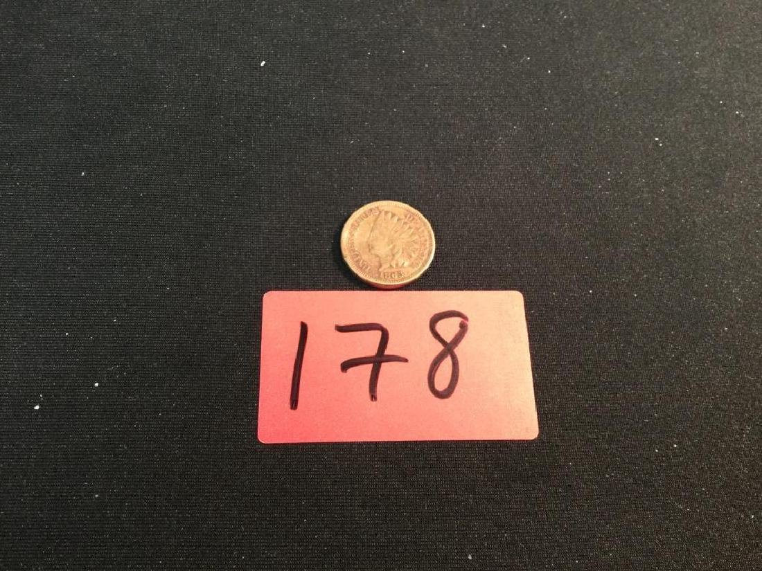 1863 Indian Head One Cent Piece