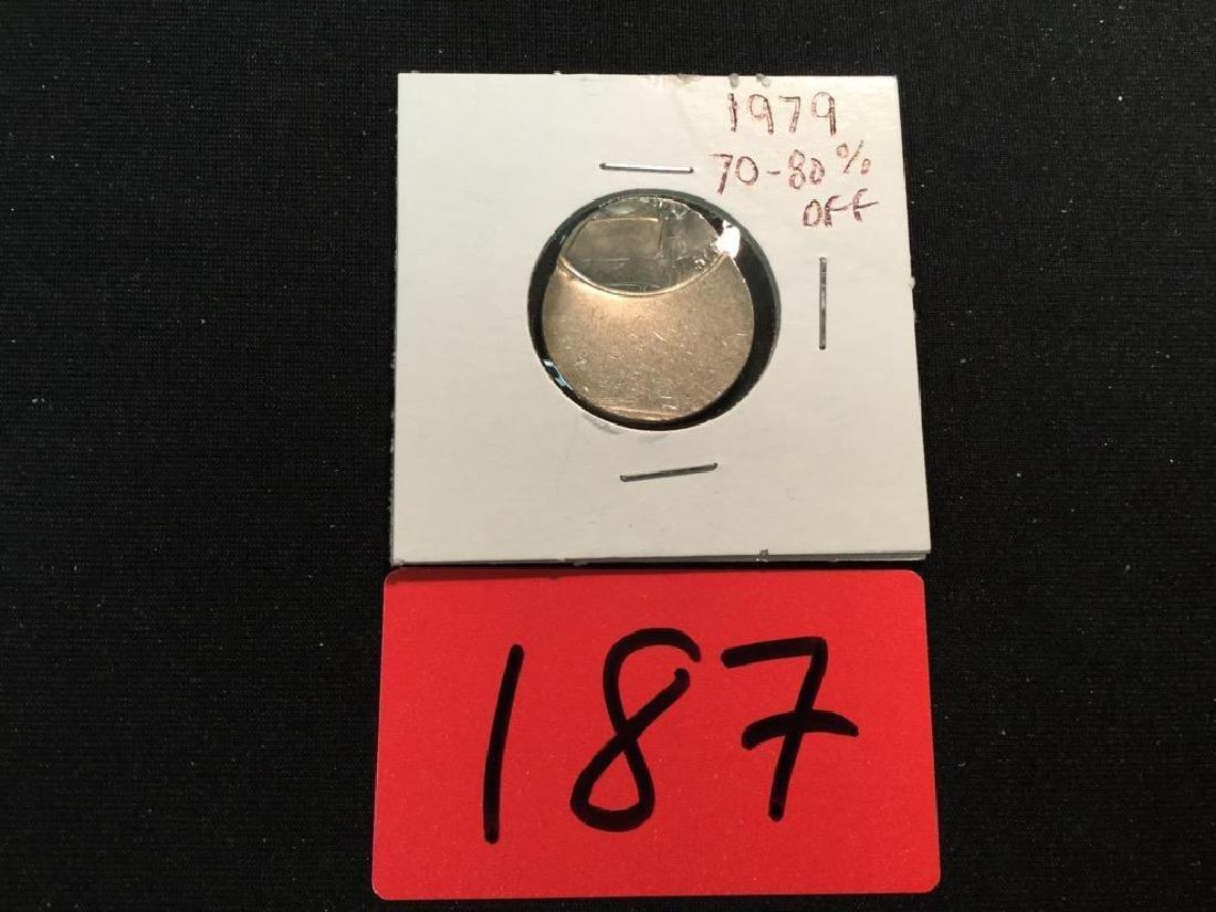 1979 Nickel 70-80% OFF CENTER