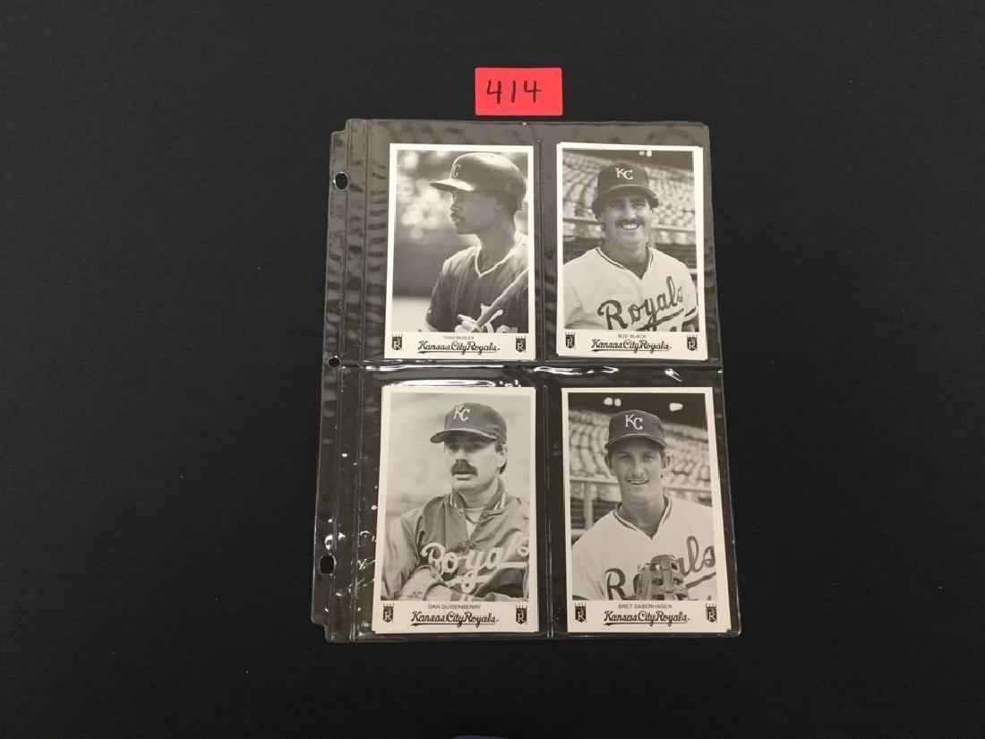 Mixed Kansas City Royal Promo Cards, nice selection