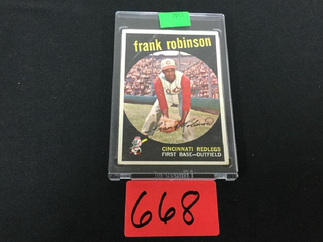 1959 TOPPS #435 FRANK ROBINSON. Sweet