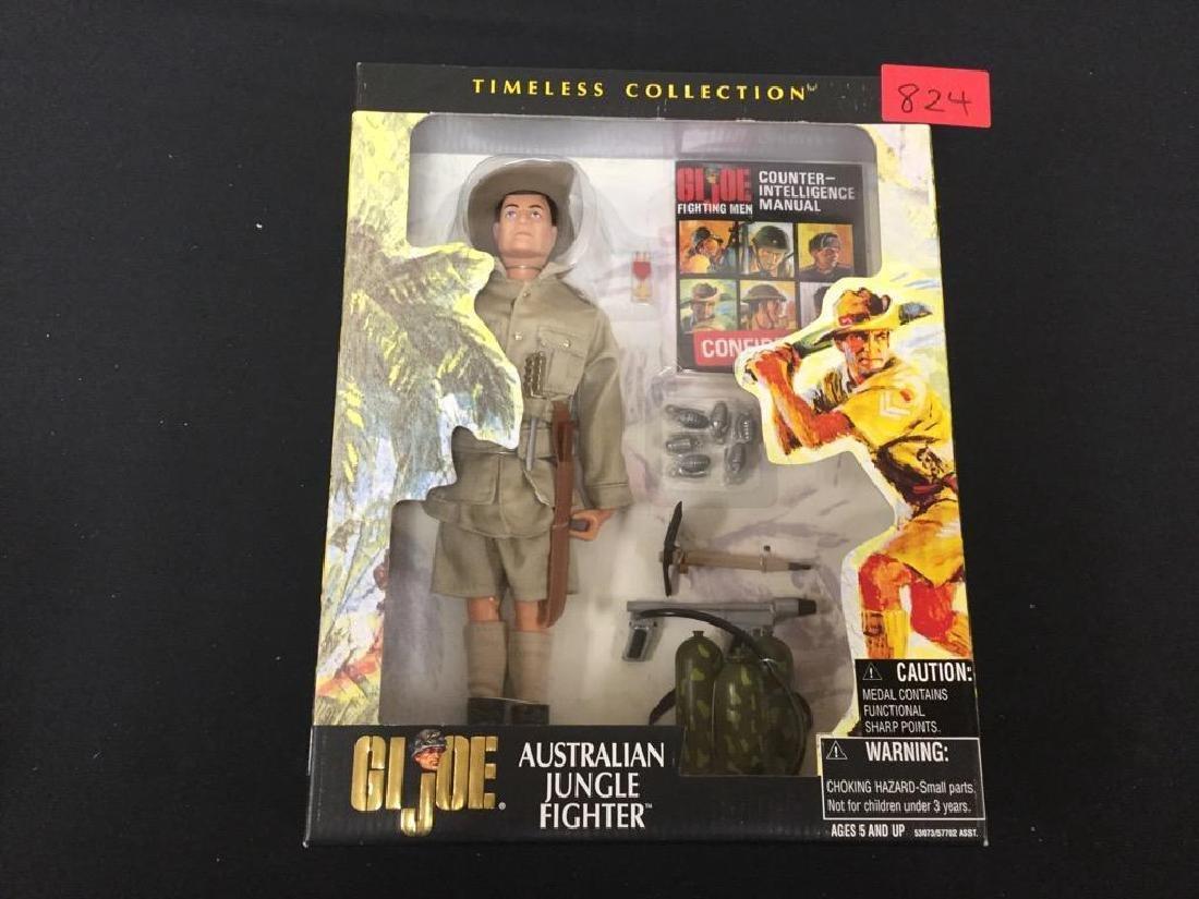 Vintage G.I. JOE AUSTRALIAN JUNGLE FIGHTER UNOPENED and