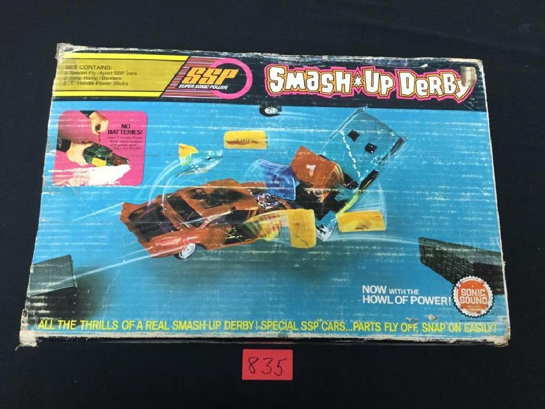 Vintage SSP SMASH UP DERBY, BOX INCLUDED, May be