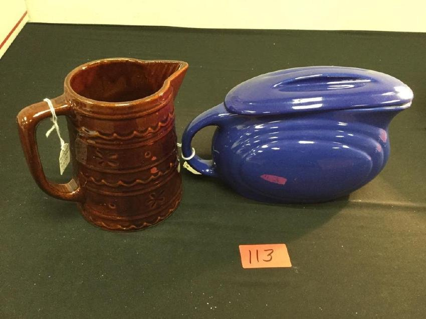 VINTAGE PITCHERS RED WING AND MARCREST. These are very