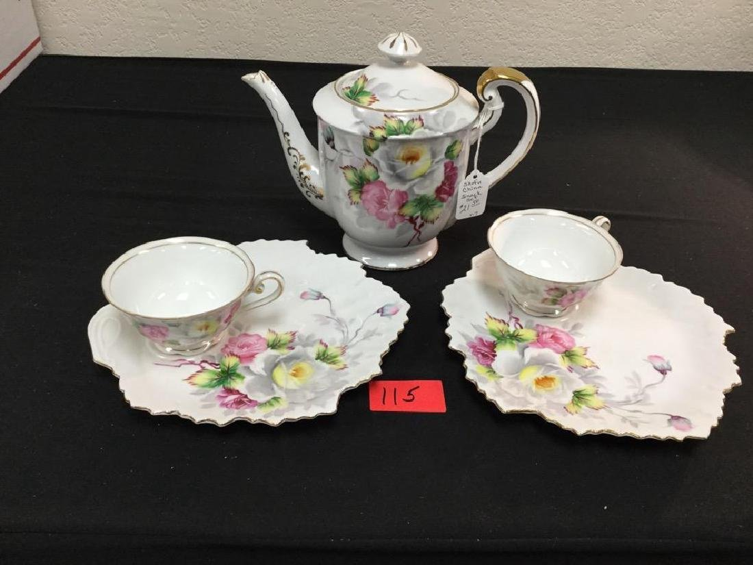 VINTAGE SHOFU CHINA SNACK SET V-7