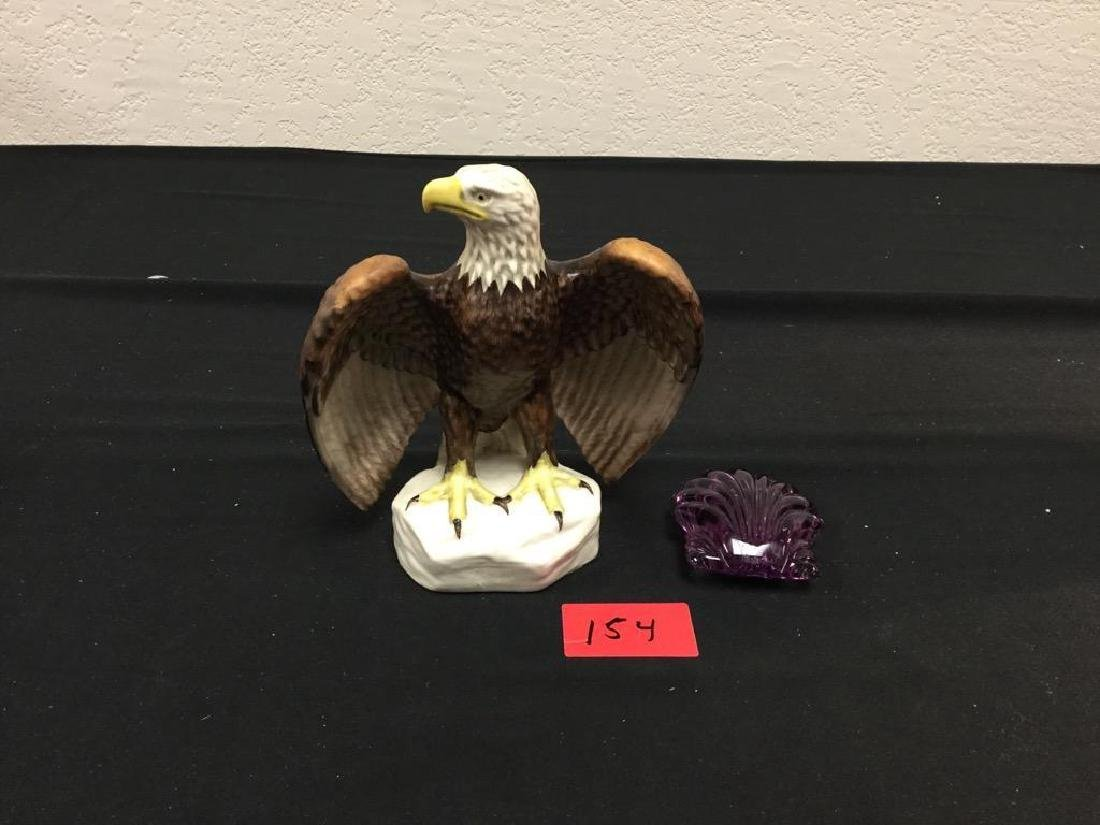 RARE 1975 GOEBEL EAGLE, SIGNED FROBEK and WATERFORD