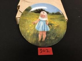 """Special MOMENTS COLLECTION PLATE #4920A  """"MEADOW MAGIC"""""""