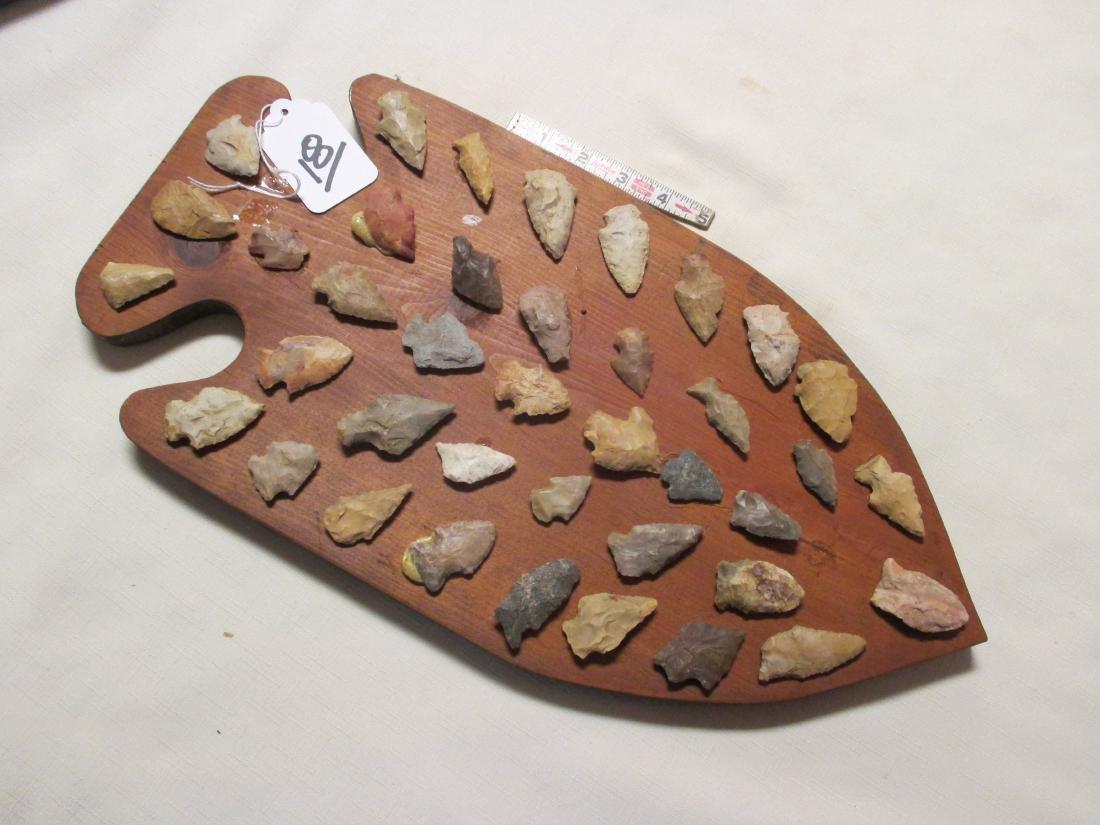 39 arrowheads