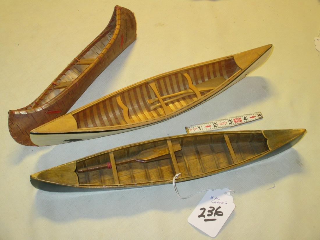 3 pc. Canoe