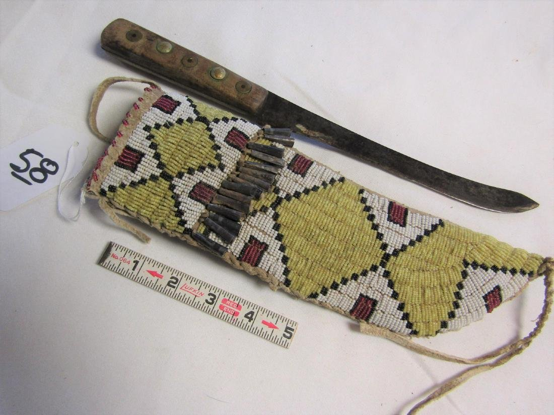 Sioux knife case