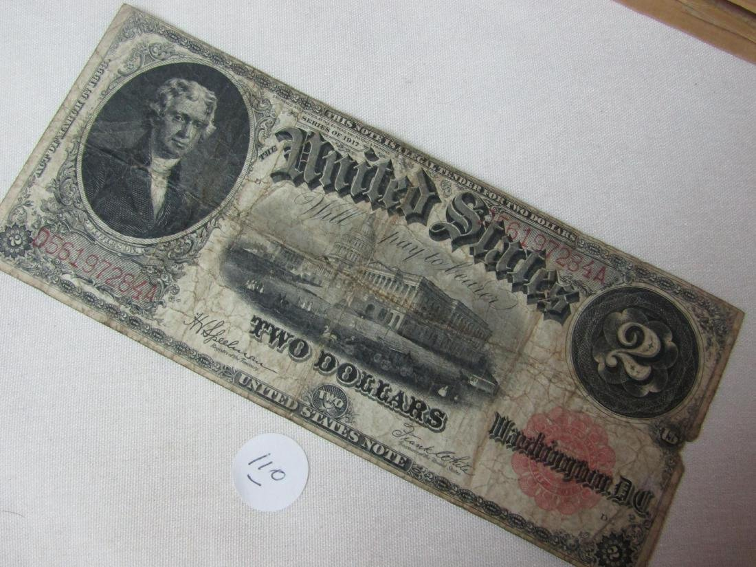 US blanket note