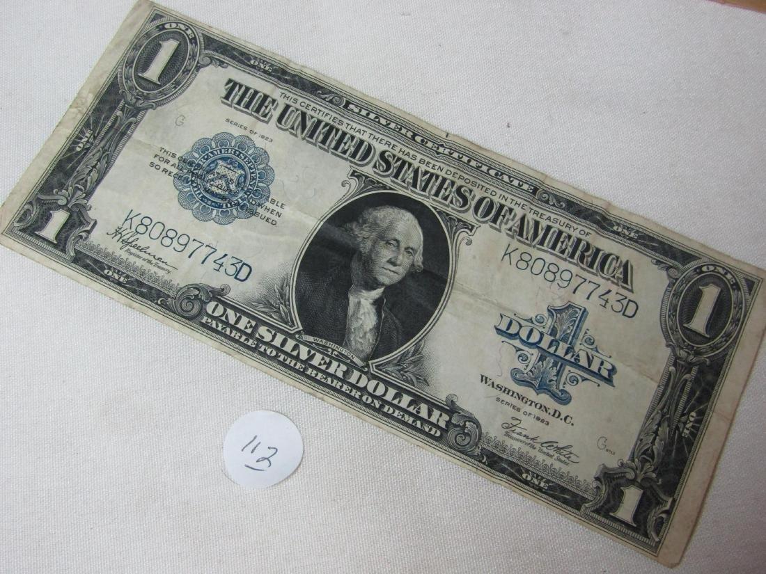 US blanket note