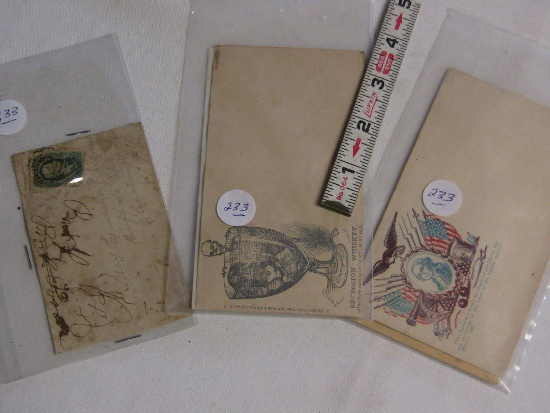 3 CW envelopes