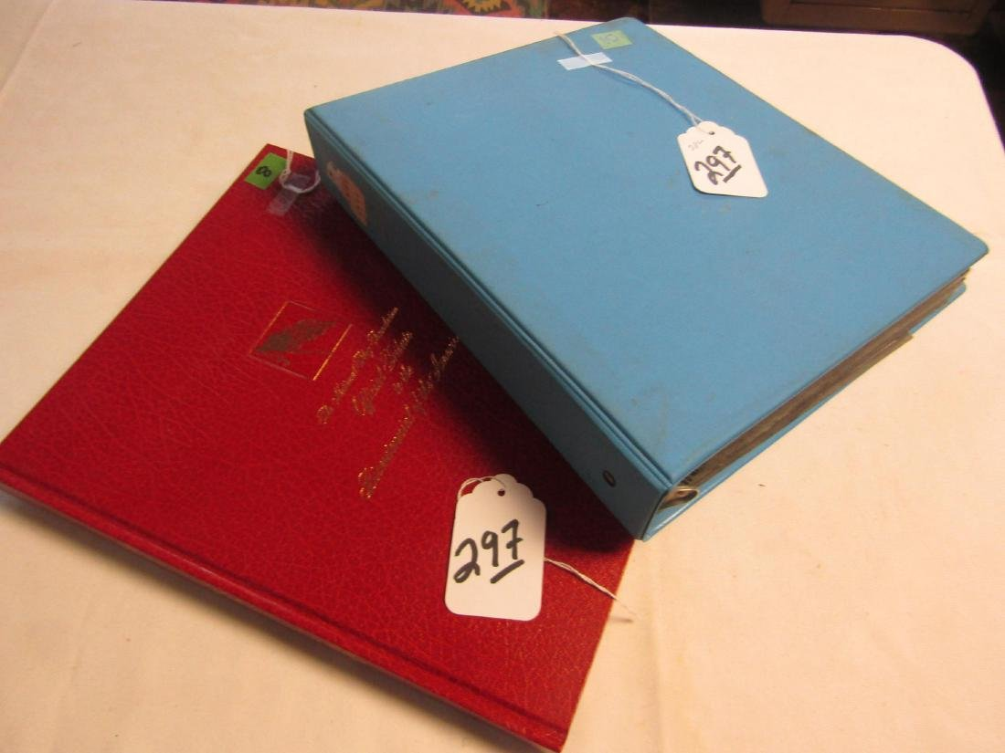2 stamp albums