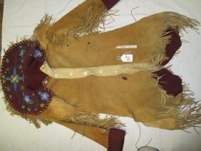 Cree man's coat