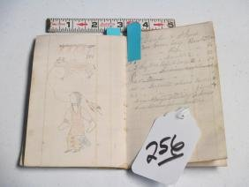Ledger book/Indian drawings