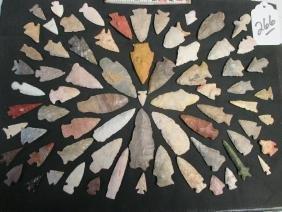 70 arrowheads