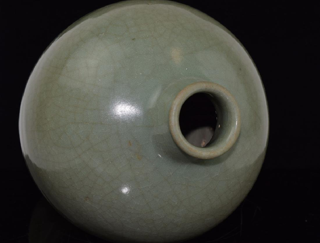 Chinese Longquan Ware Meiping Vase - 2