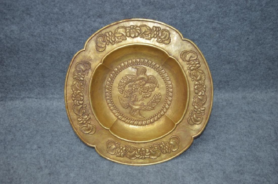 Pure Gold Phoenix  Plate