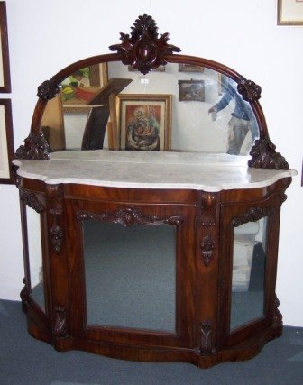 3: Victorian Mahogany Credenza
