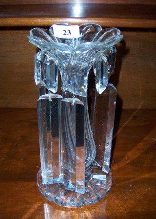 23: Circa T of C Cut Crystal Lustre Vase