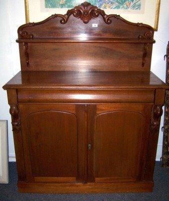 24: Colonial Cedar Shelf Back Chiffonier