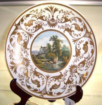 3: c.1810-1815 Round Derby Display Dish
