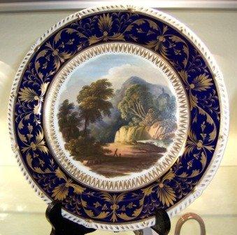 6: c.1825-35 Derby Display Dessert Plate