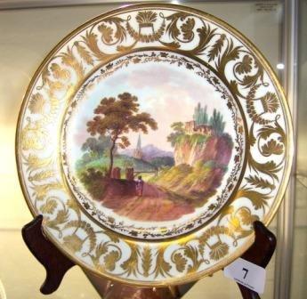 7: c.1810-20 Derby Display Plate