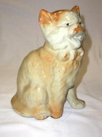 20: Early Staffordshire Style Cat Figure