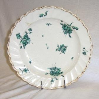 22: c.1770-1780 Chelsea Derby Plate