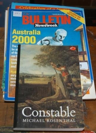 "7: Book: ""Constable"" & 7 ""The Bulletin"" Magazines Inclu"