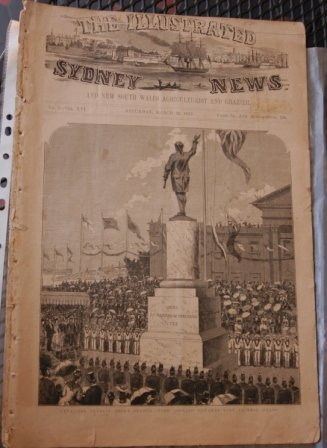 "14: ""The Illustrated Sydney News"" published Saturday, M"