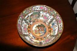 59: Early Style Cantonese Famille Rose Bowl