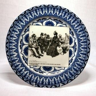 6: Royal Doulton 'Gibson B' Series B&W Display Plate 19