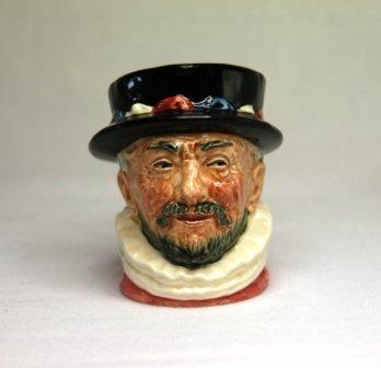 12: Royal Doulton 'Beef Eater' Small Character Jug. D62