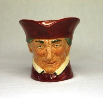 14: Royal Doulton 'The Cardinal' Small Character Jug. D