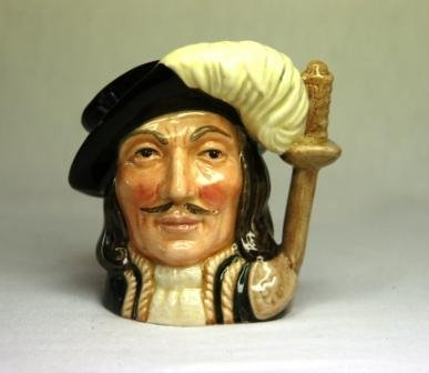 15: Royal Doulton 'Athos' Small Character Jug. D6452 19