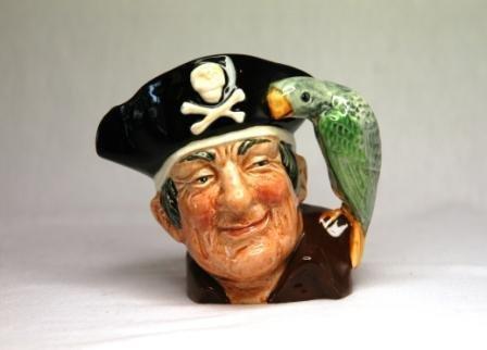 16: Royal Doulton 'Long John Silver' Small Character Ju
