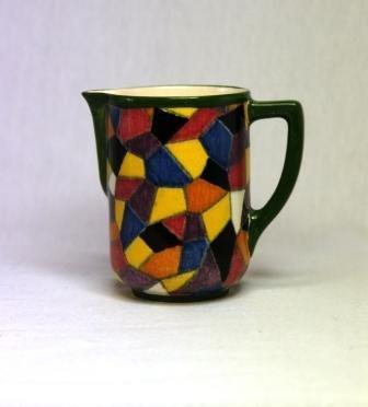 24: Royal Doulton 1930's 'Mosaic' Pattern Quorn Shape J