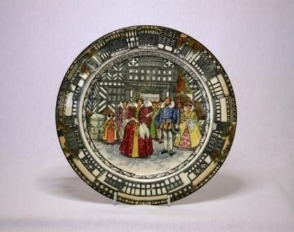 35: Royal Doulton 'Queen Elizabeth at Old Moreton 1589'