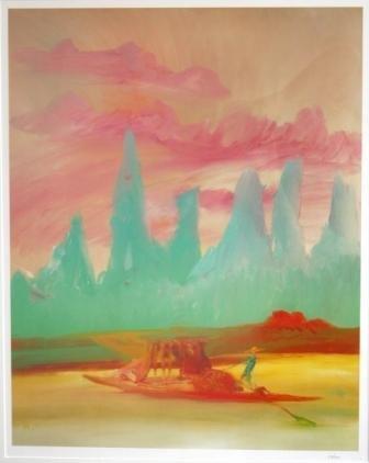 1004: NOLAN, Sid (1917-1992) River Quai Series