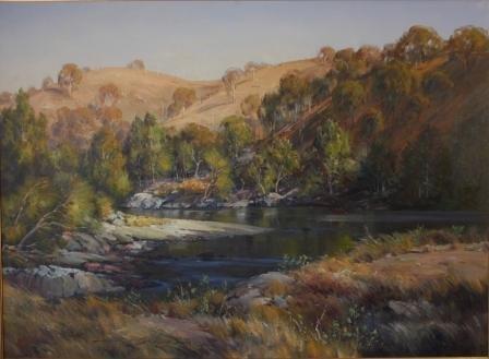 "1017: SEALY, Doug (b.1937) ""The Macquarie River"""