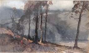 "1075: GARRETT, Tom (1879-1952) ""Harp Bay"""