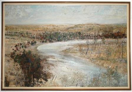 "1006A: MILLWARD, Clem (b.1929) ""River Bend, NSW,"" 1978."